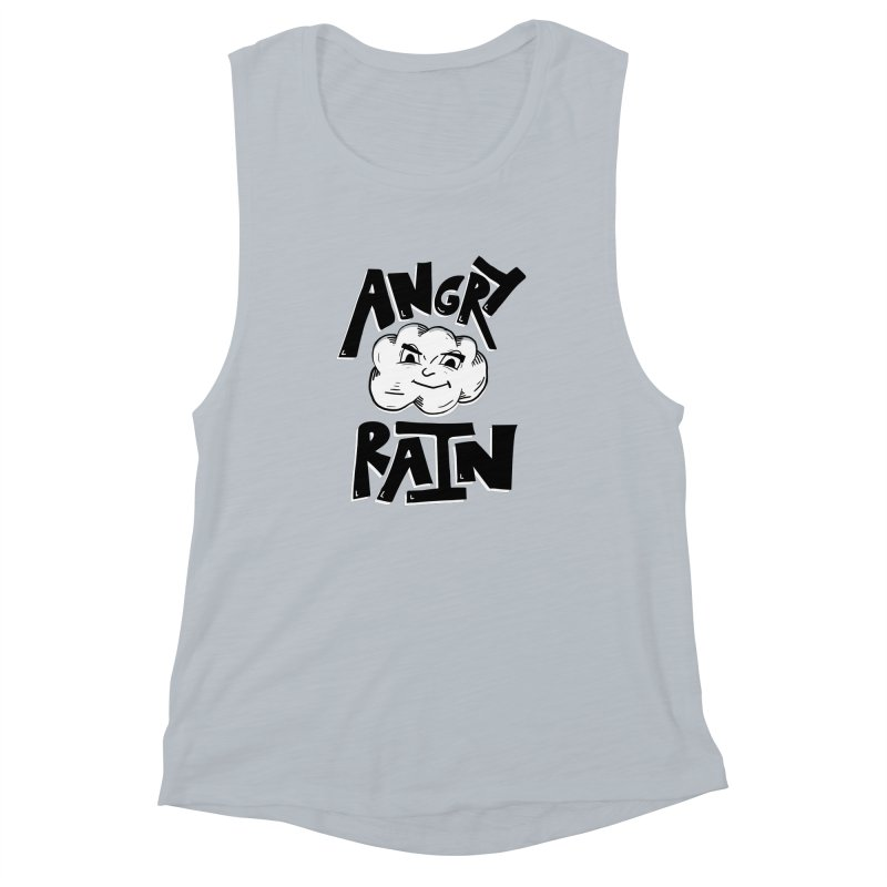 Angry Rain Women's Muscle Tank by Brandon Waite - Artist Shop