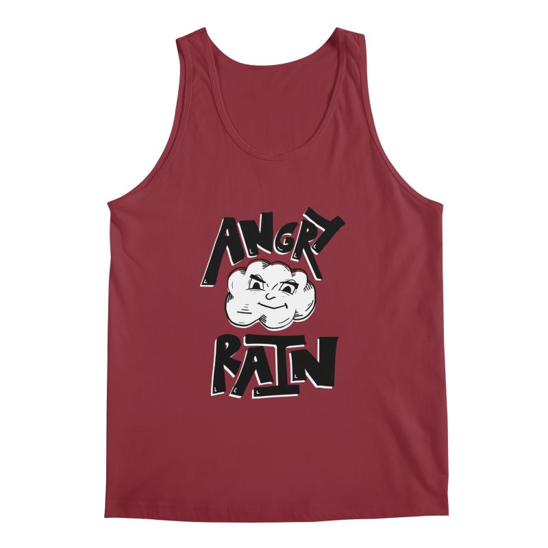 Angry Rain Men's Tank by Brandon Waite - Artist Shop