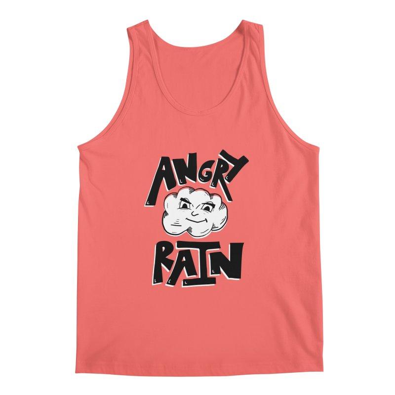 Angry Rain Men's Tank by Brandon Waite - Artist Shop