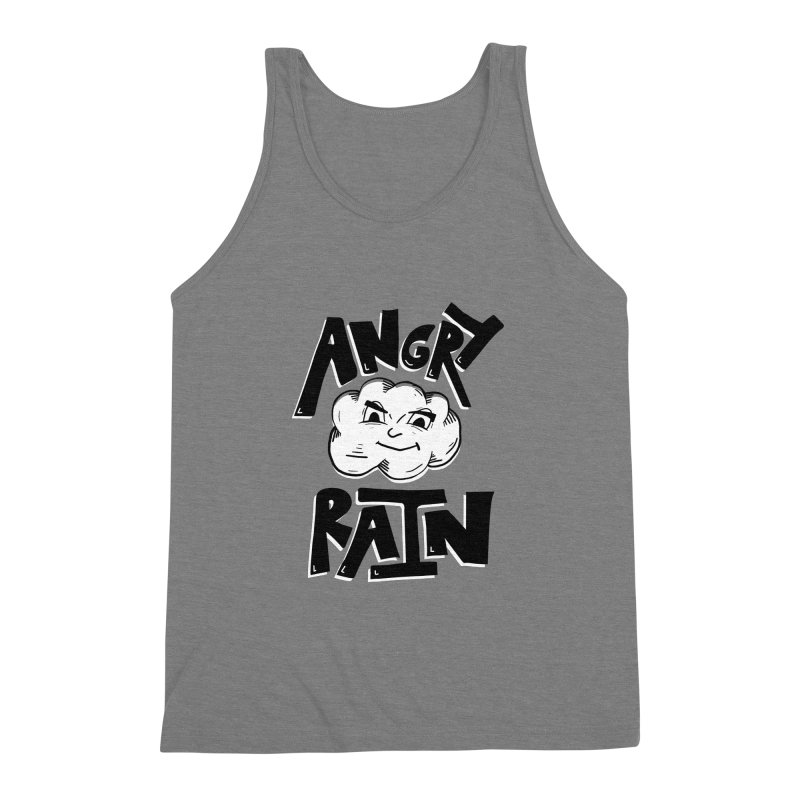 Angry Rain Men's Triblend Tank by Brandon Waite - Artist Shop