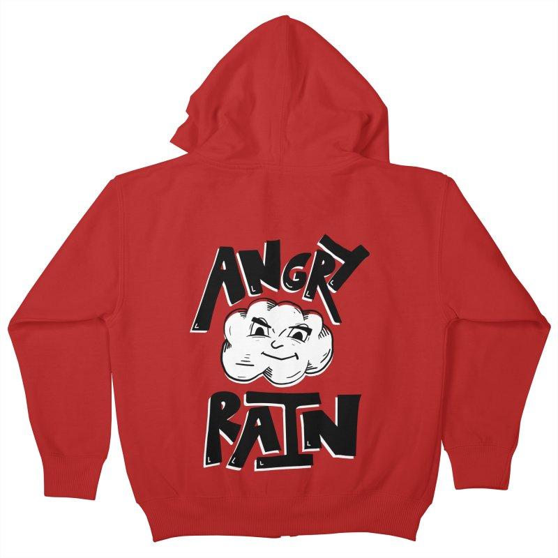 Angry Rain Kids Zip-Up Hoody by Brandon Waite - Artist Shop