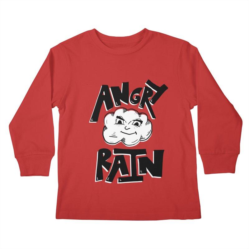 Angry Rain Kids Longsleeve T-Shirt by Brandon Waite - Artist Shop