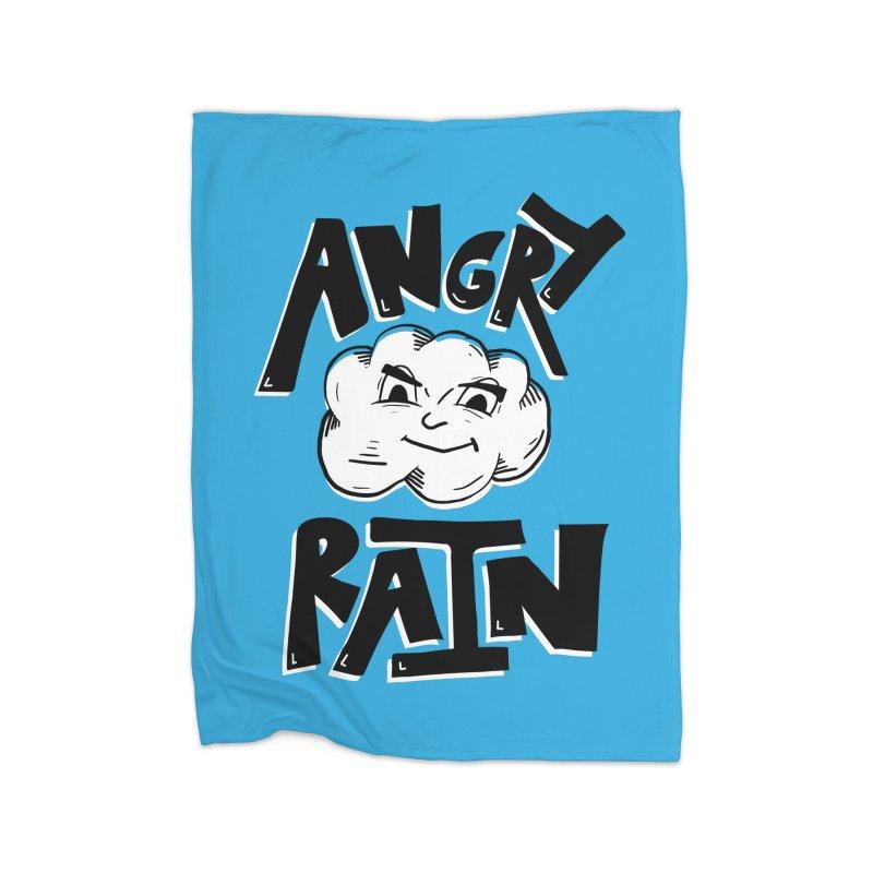 Angry Rain Home Blanket by Brandon Waite - Artist Shop