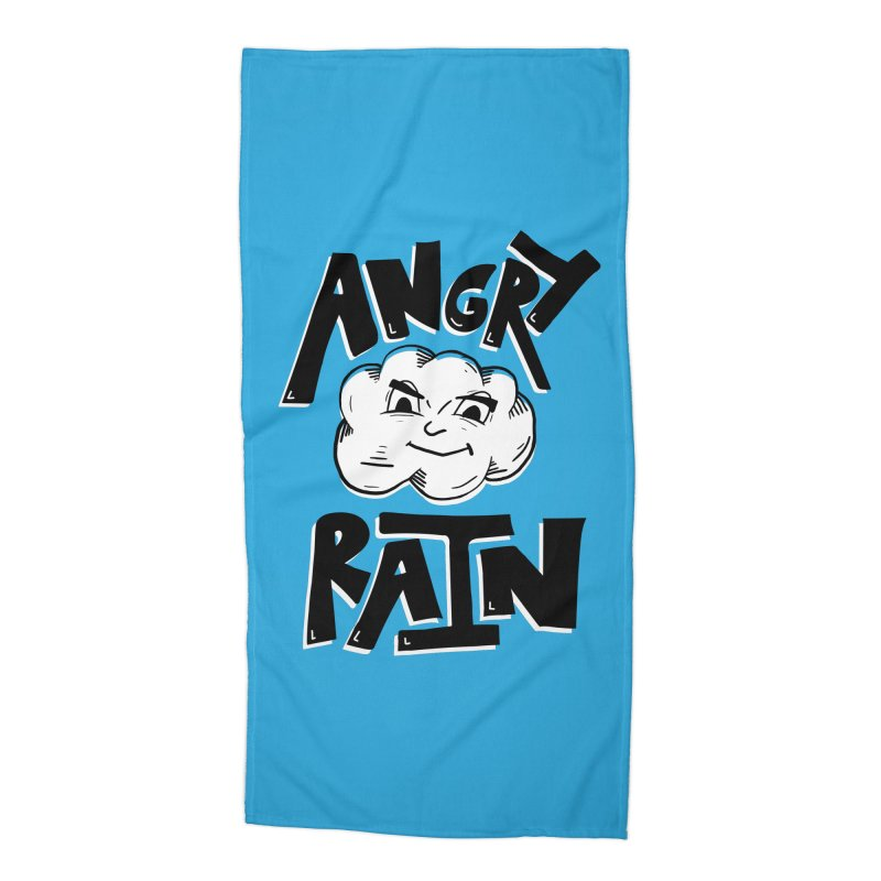 Angry Rain Accessories Beach Towel by Brandon Waite - Artist Shop