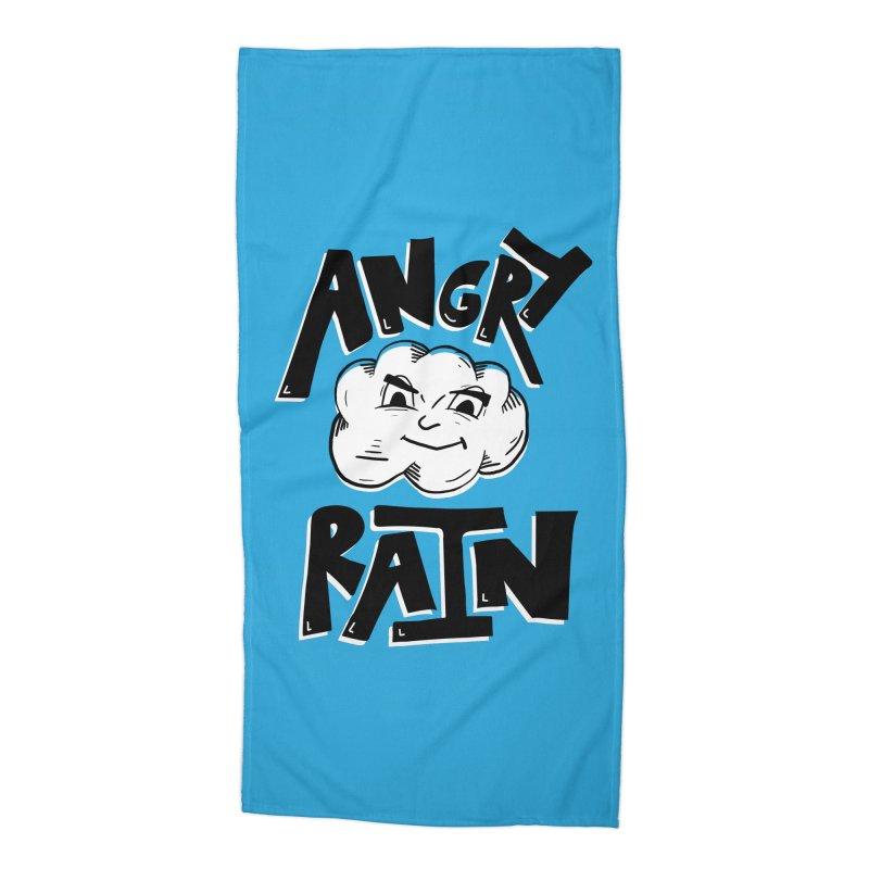 Angry Rain Accessories Beach Towel by Brandon Waite - Artist Shop