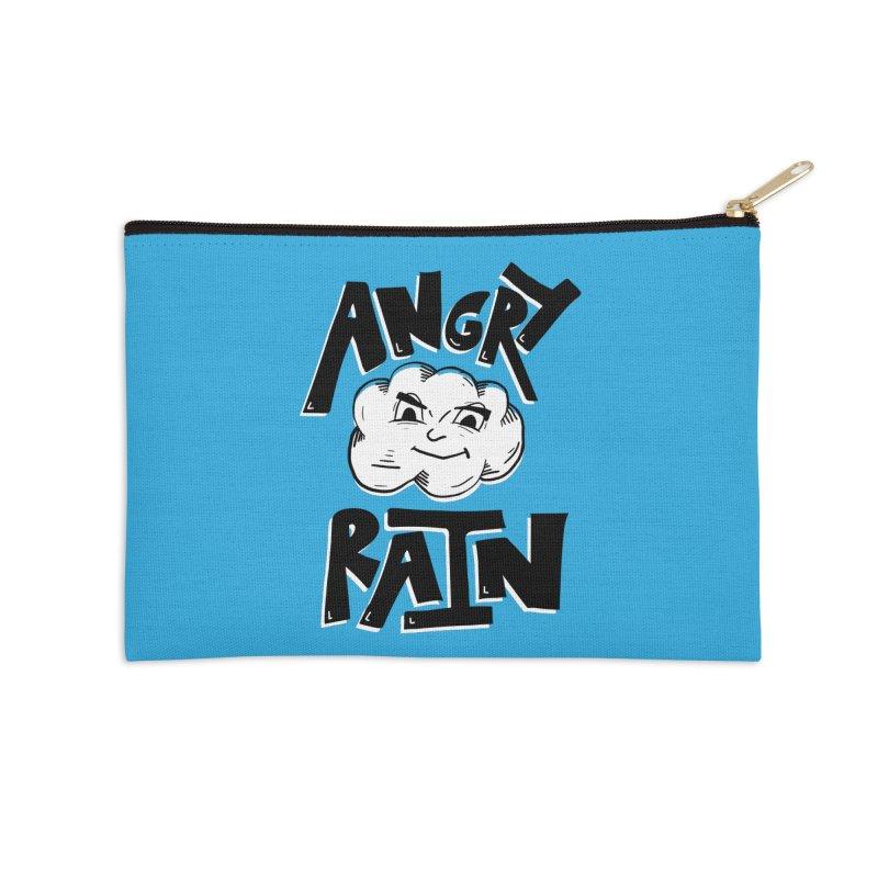 Angry Rain Accessories Zip Pouch by Brandon Waite - Artist Shop