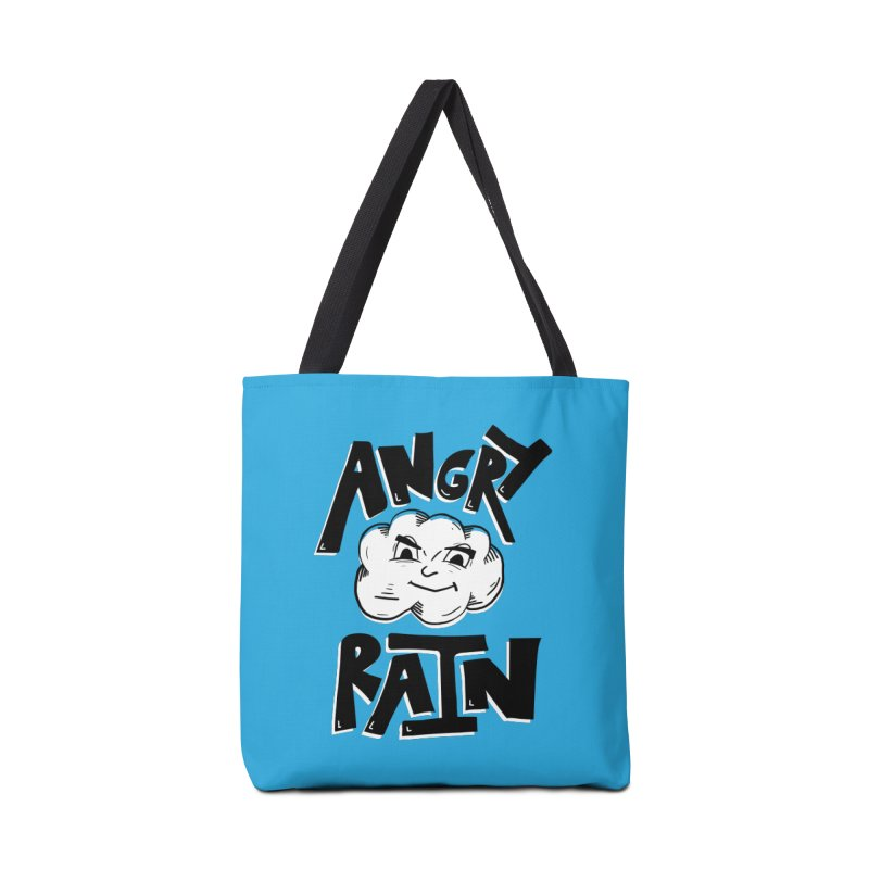 Angry Rain Accessories Bag by Brandon Waite - Artist Shop