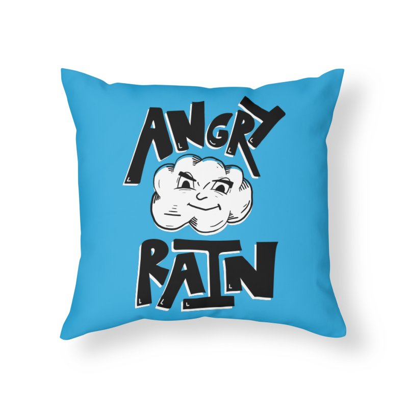 Angry Rain Home Throw Pillow by Brandon Waite - Artist Shop