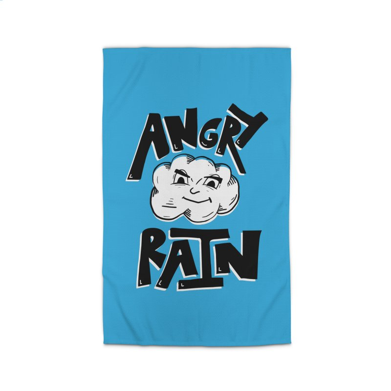 Angry Rain Home Rug by Brandon Waite - Artist Shop