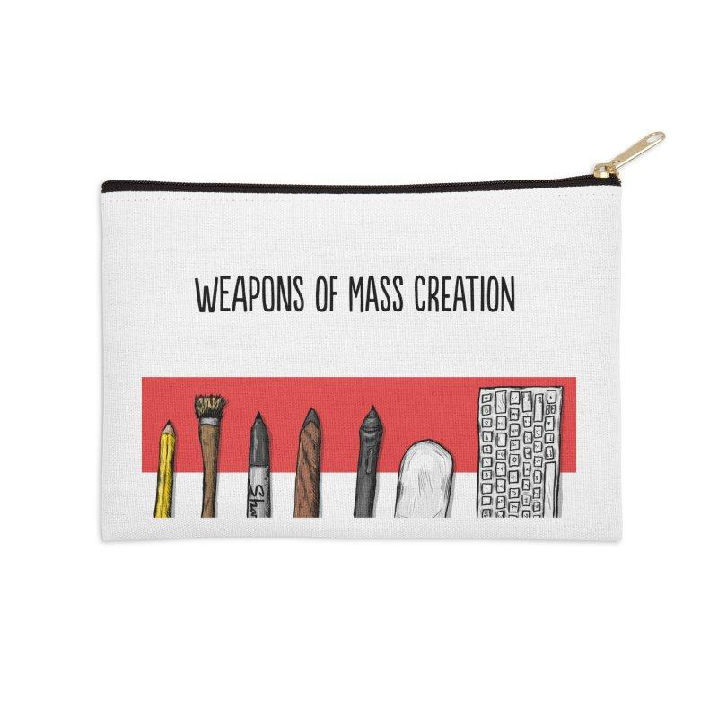 Weapons of Mass Creation Accessories Zip Pouch by Brandon Waite - Artist Shop