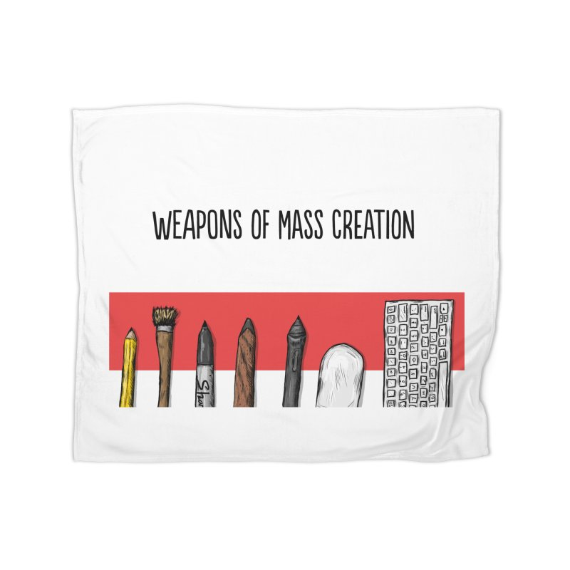 Weapons of Mass Creation Home Blanket by Brandon Waite - Artist Shop