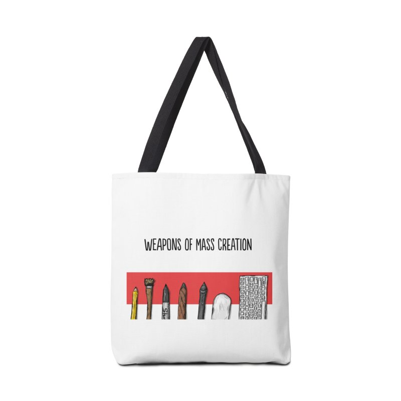 Weapons of Mass Creation Accessories Bag by Brandon Waite - Artist Shop
