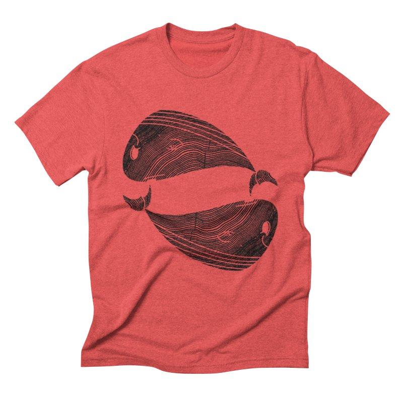 TreeWhale Men's Triblend T-shirt by wakingupowls's Artist Shop
