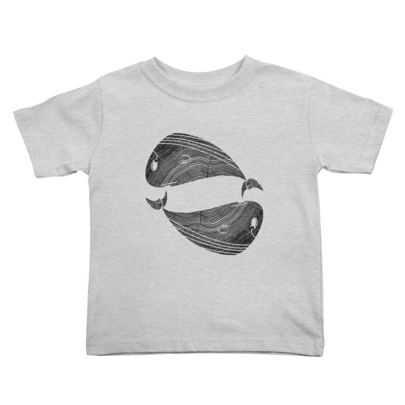 TreeWhale Kids Toddler T-Shirt by wakingupowls's Artist Shop