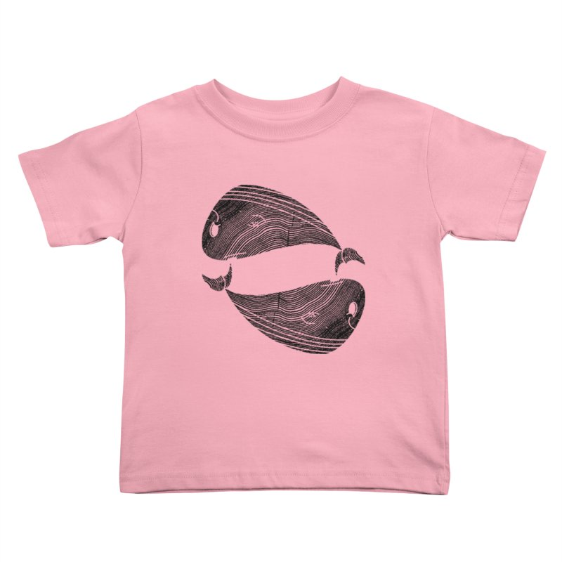TreeWhale Kids Toddler T-Shirt by wakingupowls's Artist Shop