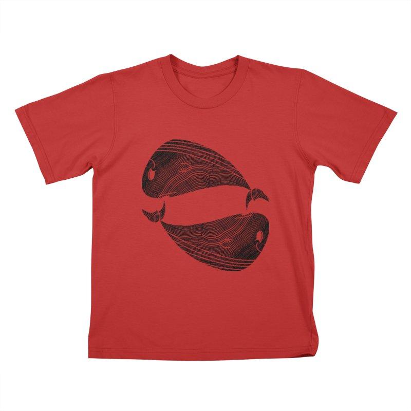 TreeWhale Kids T-Shirt by wakingupowls's Artist Shop