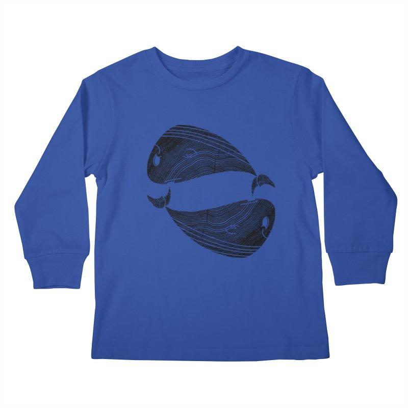 TreeWhale Kids Longsleeve T-Shirt by wakingupowls's Artist Shop