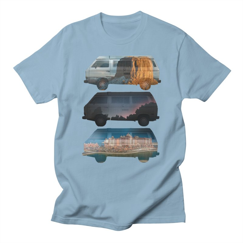 Travelers Men's T-shirt by wakingupowls's Artist Shop