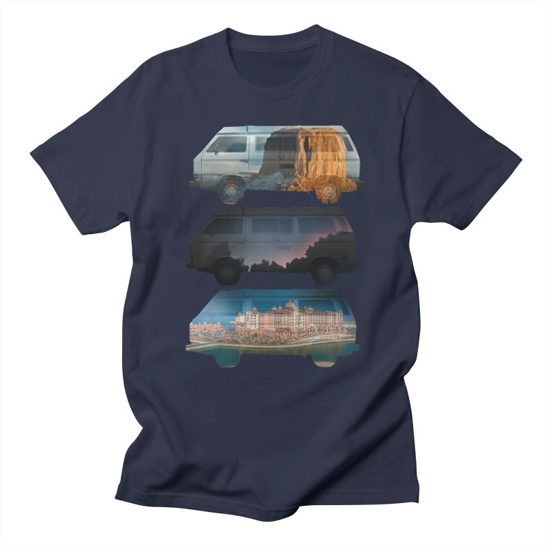 Travelers Men's T-shirt by wakingupowls's Artist Shop