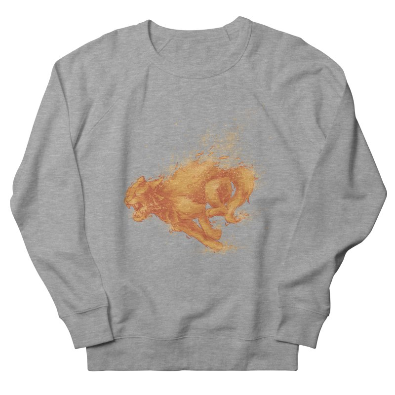 Cat on FAYYA! Women's Sweatshirt by waldychavez's Artist Shop