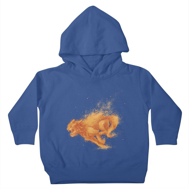Cat on FAYYA! Kids Toddler Pullover Hoody by waldychavez's Artist Shop