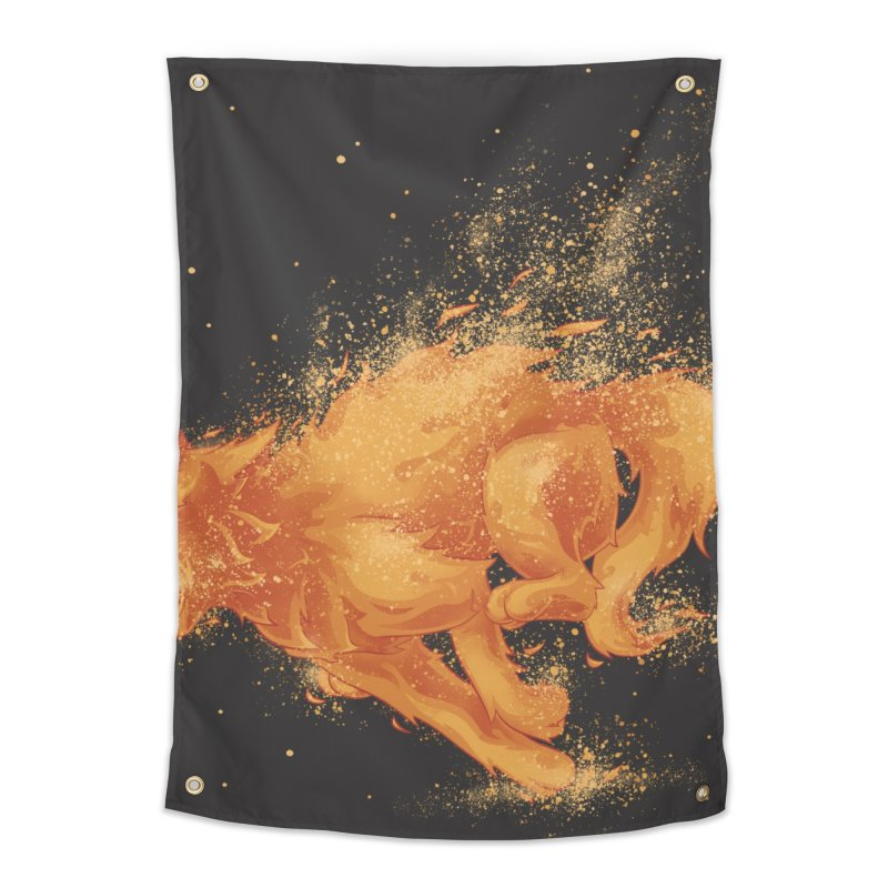 Cat on FAYYA! Home Tapestry by waldychavez's Artist Shop