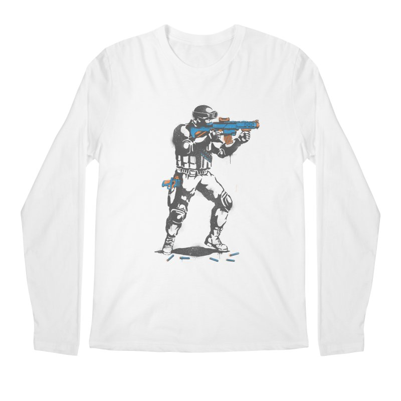 PLAY NOT WAR Men's Longsleeve T-Shirt by waldychavez's Artist Shop