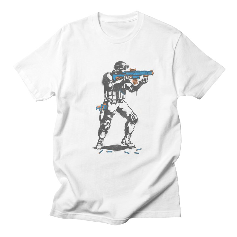PLAY NOT WAR Men's T-shirt by waldychavez's Artist Shop