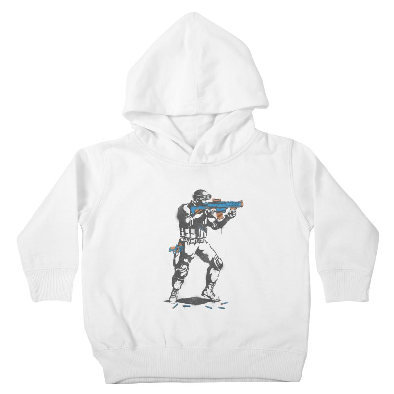 PLAY NOT WAR Kids Toddler Pullover Hoody by waldychavez's Artist Shop