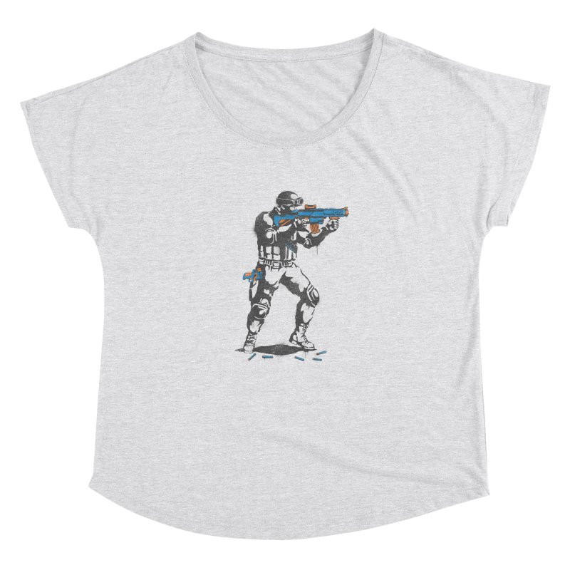 PLAY NOT WAR Women's Dolman by waldychavez's Artist Shop