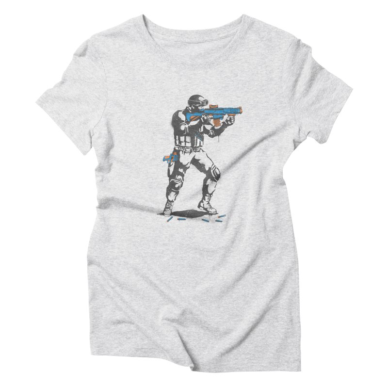 PLAY NOT WAR Women's Triblend T-shirt by waldychavez's Artist Shop