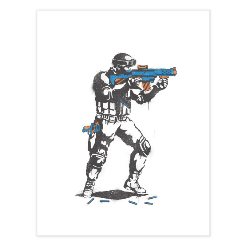 PLAY NOT WAR Home Fine Art Print by waldychavez's Artist Shop