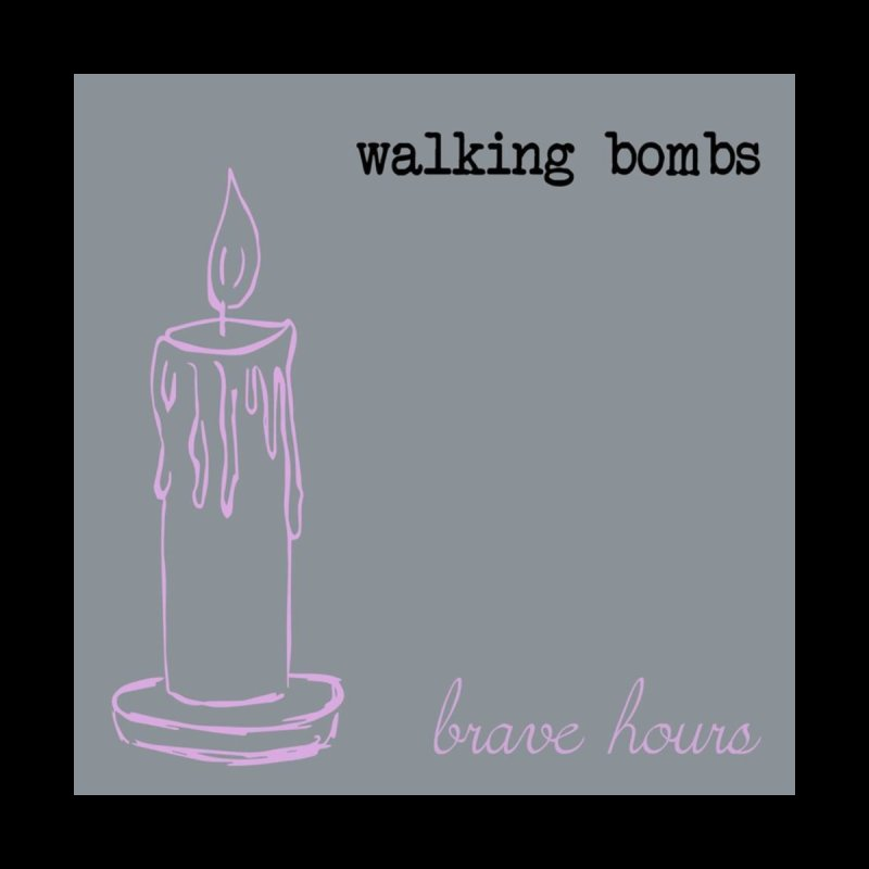 brave hours candle by walkingbombs's Artist Shop