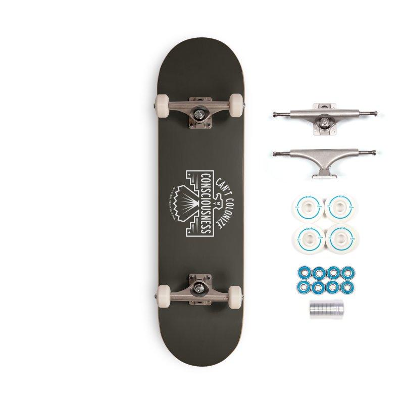 Can't Colonize  + WalkingStick Design Co. Accessories Skateboard by WalkingStick Design's Artist Shop
