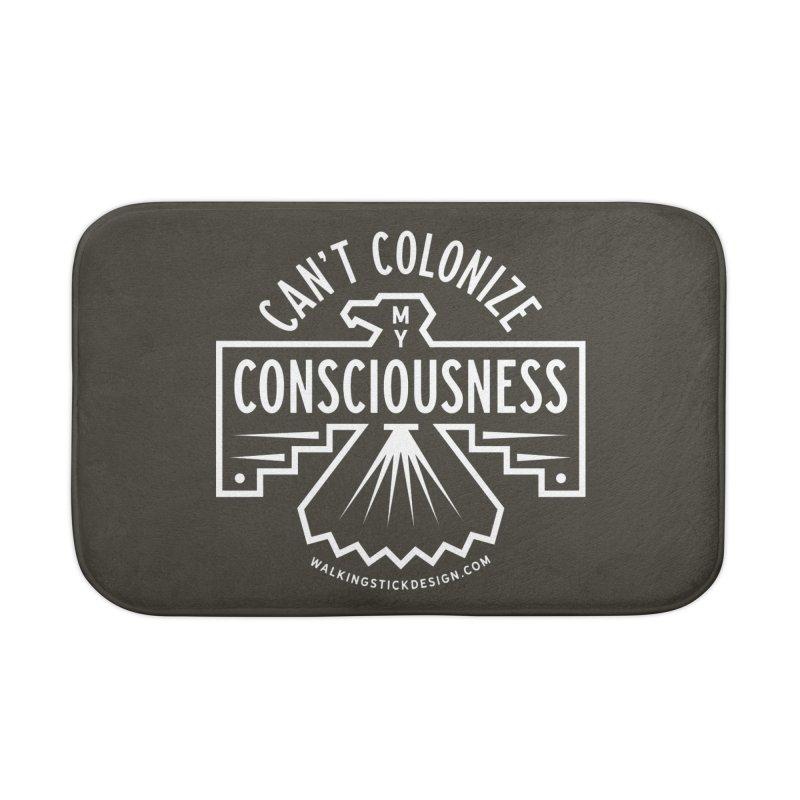 Can't Colonize  + WalkingStick Design Co. Home Bath Mat by WalkingStick Design's Artist Shop