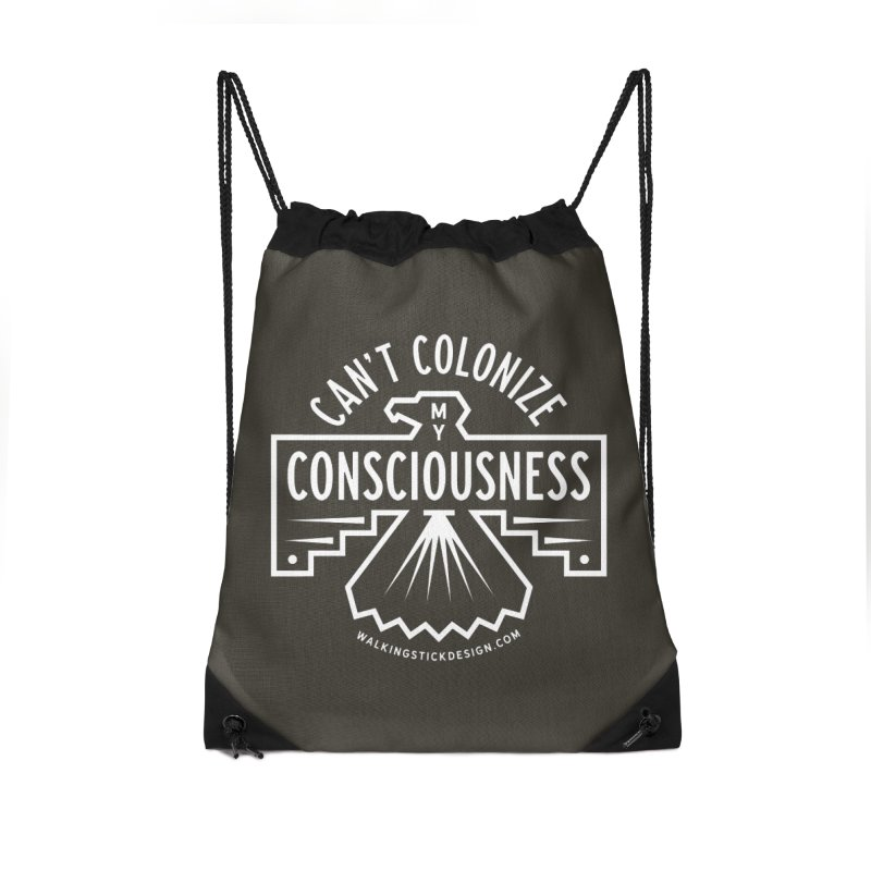 Can't Colonize  + WalkingStick Design Co. Accessories Bag by WalkingStick Design's Artist Shop