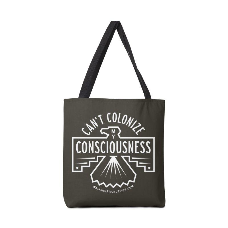 Can't Colonize  + WalkingStick Design Co. Accessories Tote Bag Bag by WalkingStick Design's Artist Shop