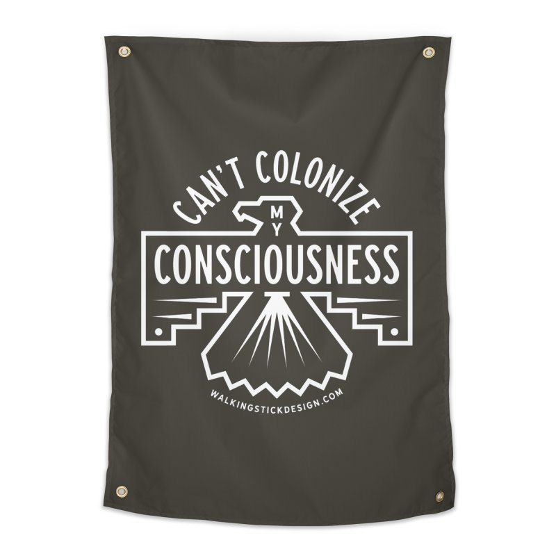 Can't Colonize  + WalkingStick Design Co. Home Tapestry by WalkingStick Design's Artist Shop