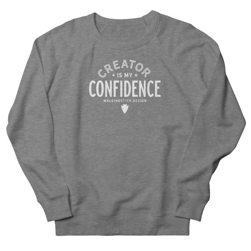 Creator  + WalkingStick Design Co. Women's Sweatshirt by WalkingStick Design's Artist Shop