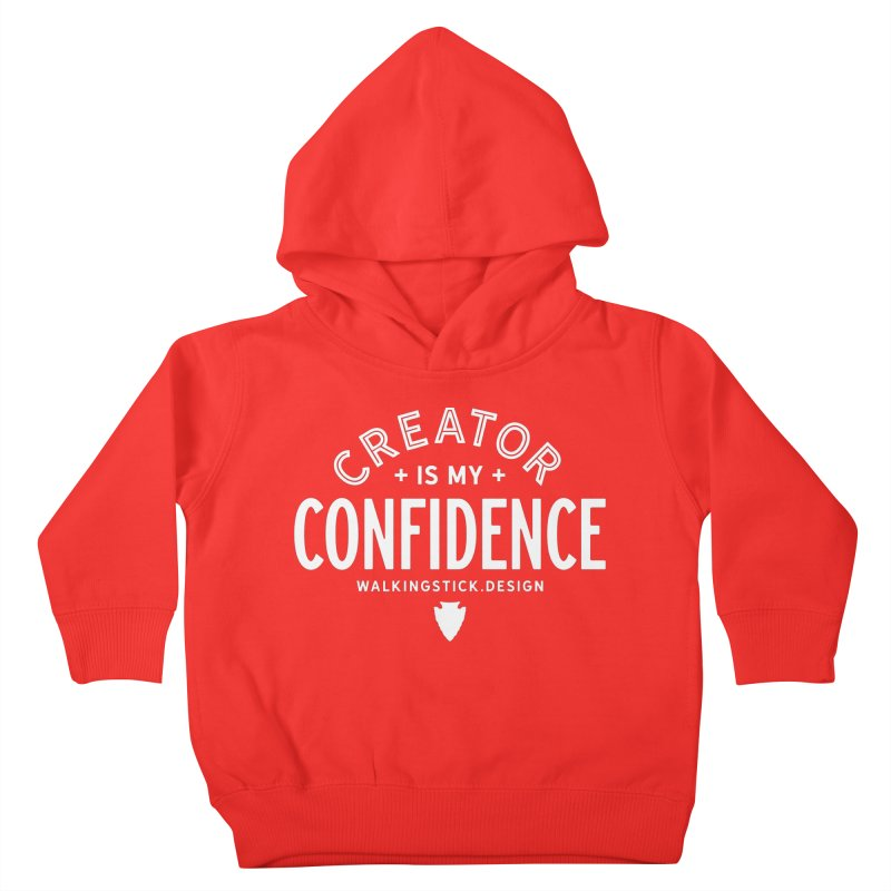 Creator  + WalkingStick Design Co. Kids Toddler Pullover Hoody by WalkingStick Design's Artist Shop