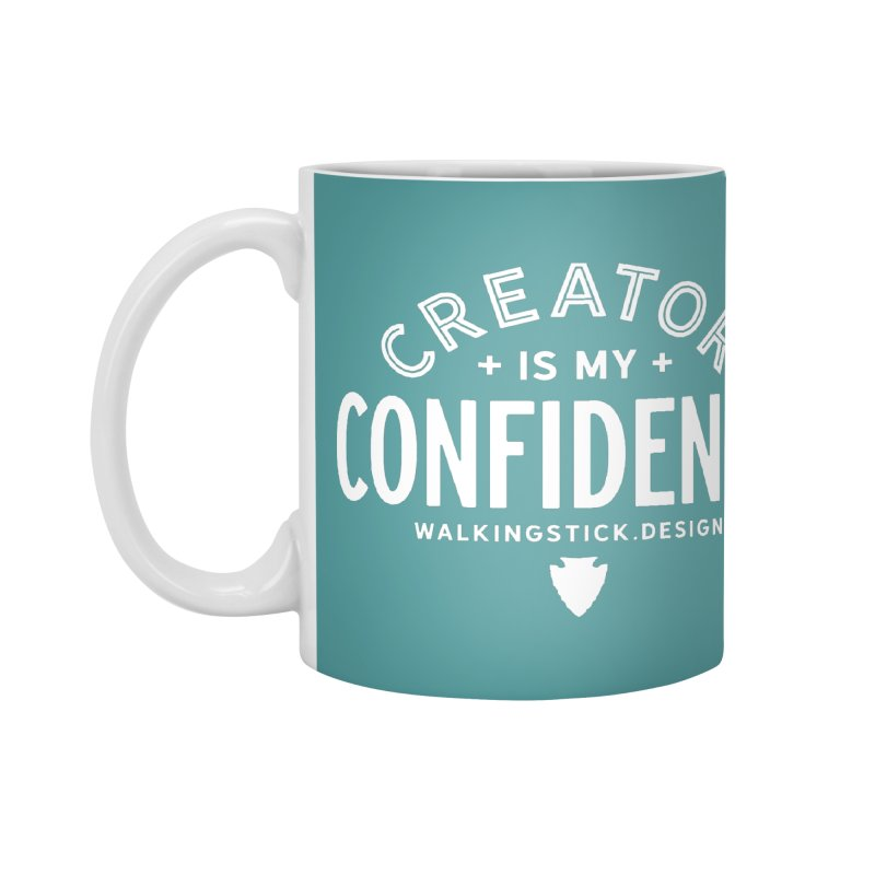 Creator  + WalkingStick Design Co. Accessories Mug by WalkingStick Design's Artist Shop
