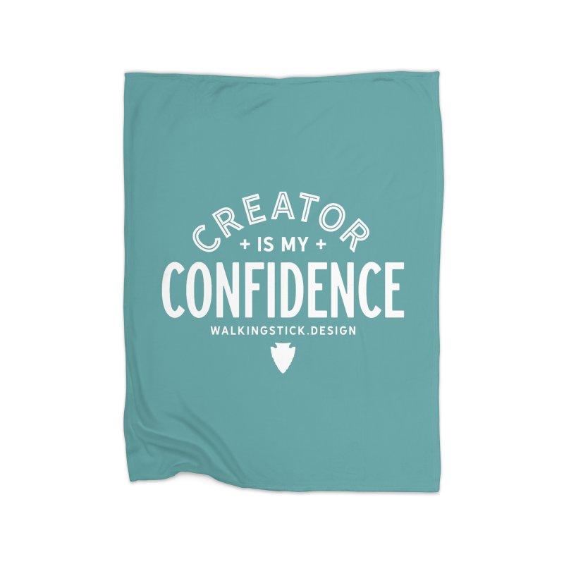 Creator  + WalkingStick Design Co. Home Blanket by WalkingStick Design's Artist Shop