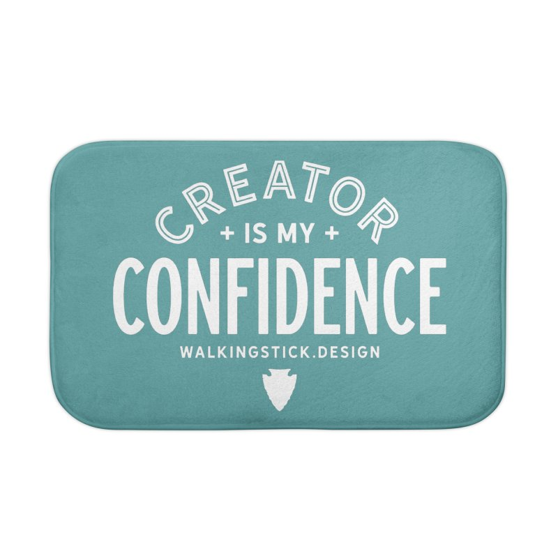 Creator  + WalkingStick Design Co. Home Bath Mat by WalkingStick Design's Artist Shop