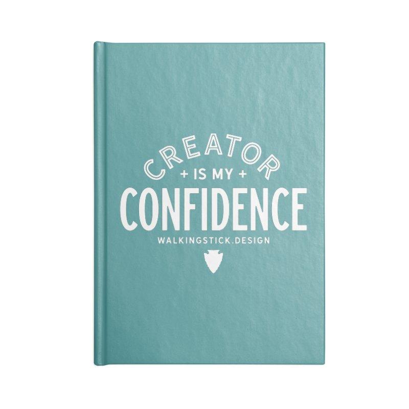Creator  + WalkingStick Design Co. Accessories Notebook by WalkingStick Design's Artist Shop