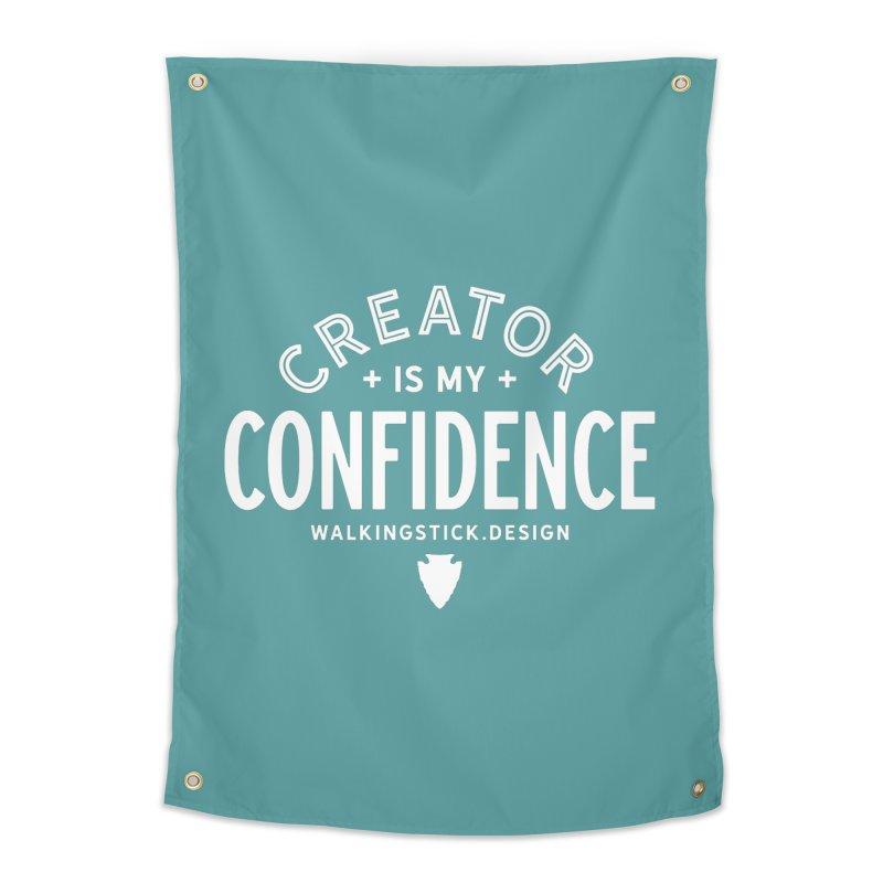 Creator  + WalkingStick Design Co. Home Tapestry by WalkingStick Design's Artist Shop