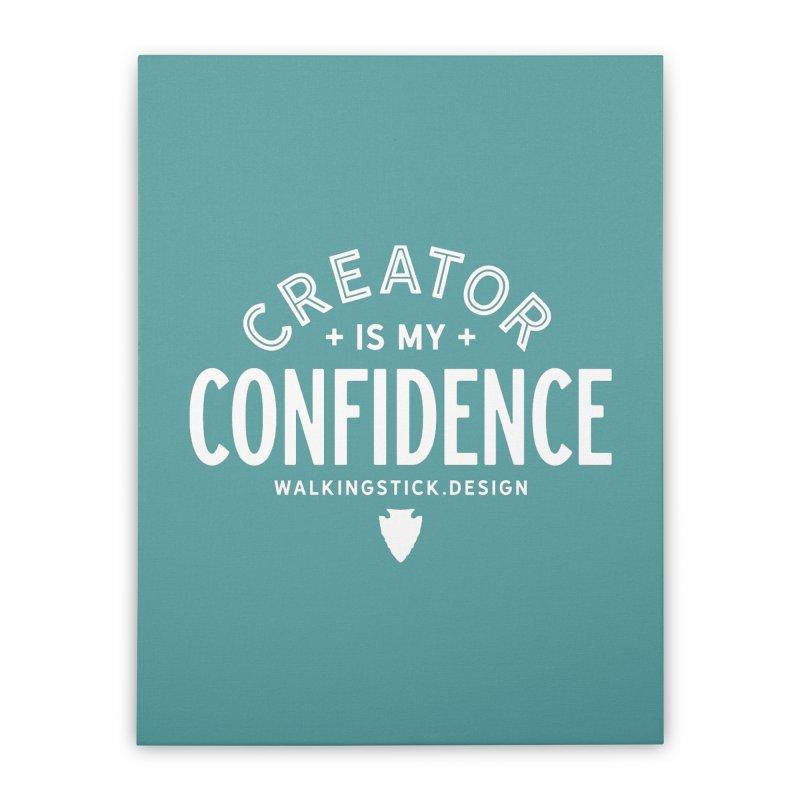 Creator  + WalkingStick Design Co. Home Stretched Canvas by WalkingStick Design's Artist Shop