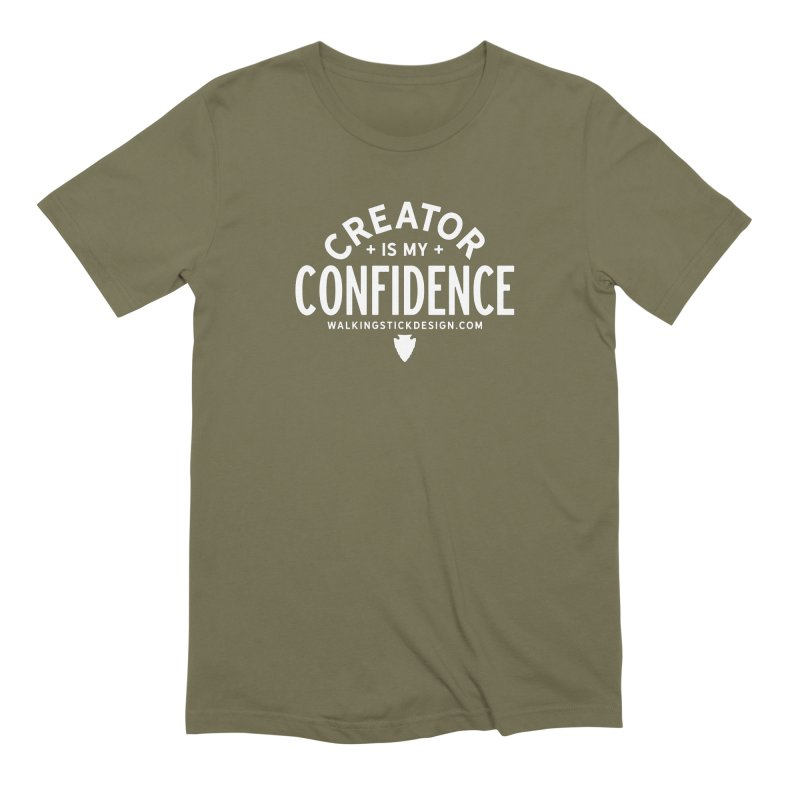 Creator  + WalkingStick Design Co. Men's Extra Soft T-Shirt by WalkingStick Design's Artist Shop