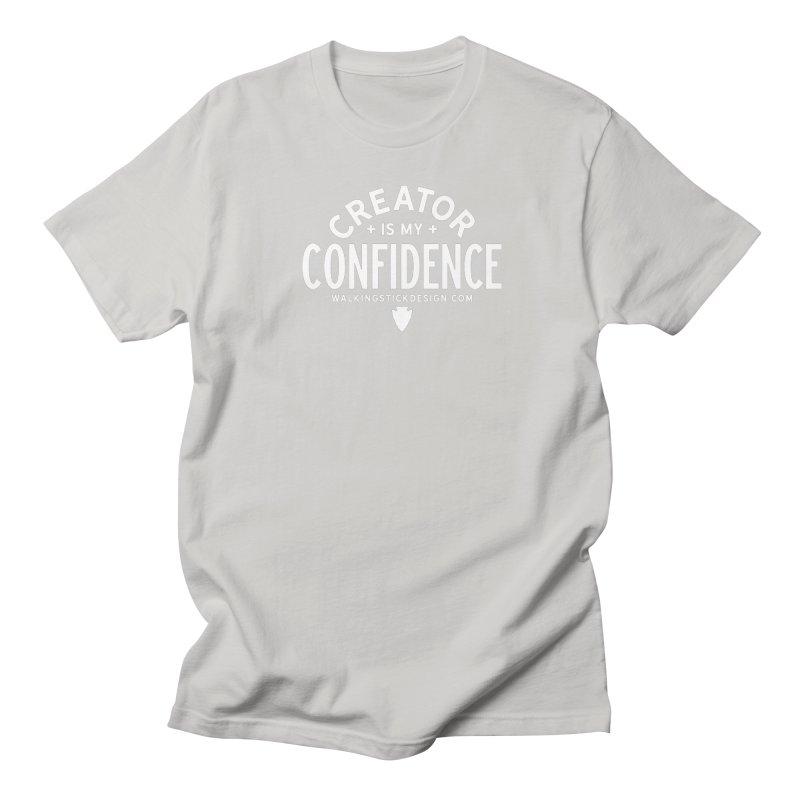 Creator  + WalkingStick Design Co. Men's Regular T-Shirt by WalkingStick Design's Artist Shop