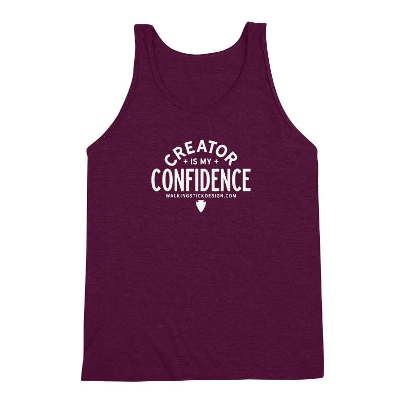 Creator  + WalkingStick Design Co. Men's Triblend Tank by WalkingStick Design's Artist Shop