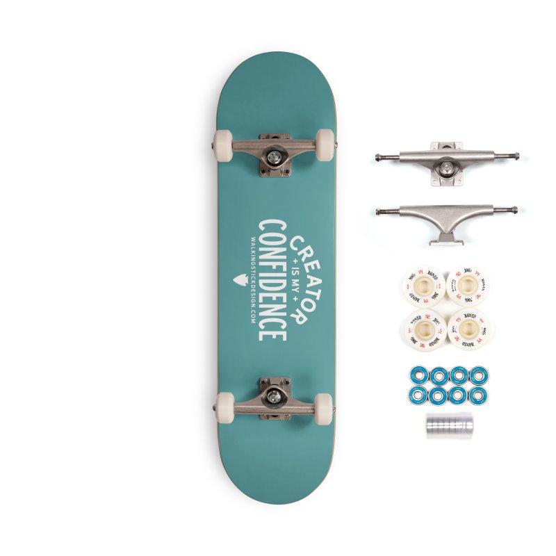 Creator  + WalkingStick Design Co. Accessories Complete - Premium Skateboard by WalkingStick Design's Artist Shop